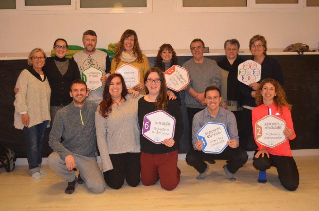 Final 13ª Edició Curs Mindfulness Girona Reducció de l'Estrès.